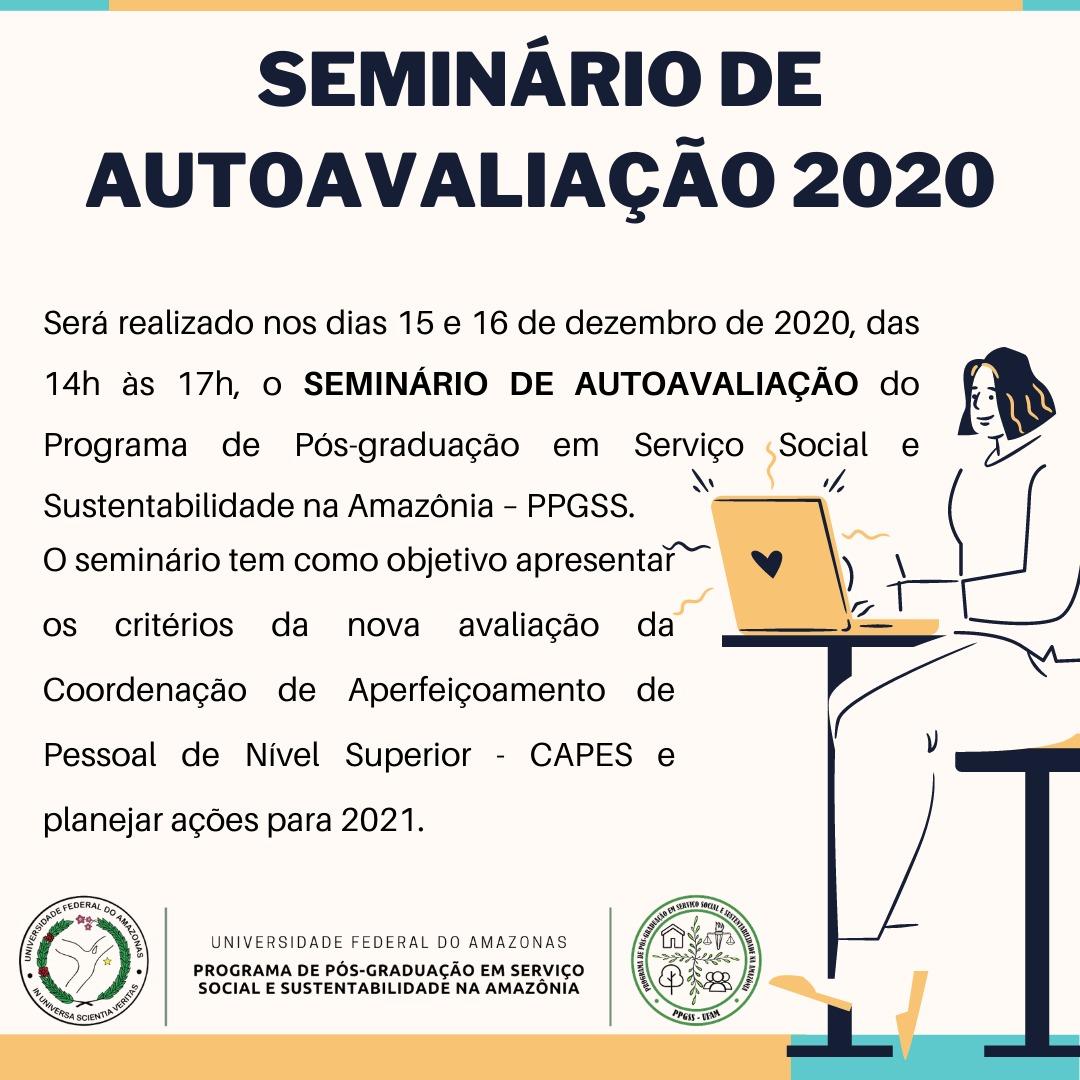 SEMINÁRIO DE AUTOAVALIÇÃO DO PPGSS - 2020